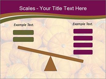 Colorful pumpkins PowerPoint Templates - Slide 89