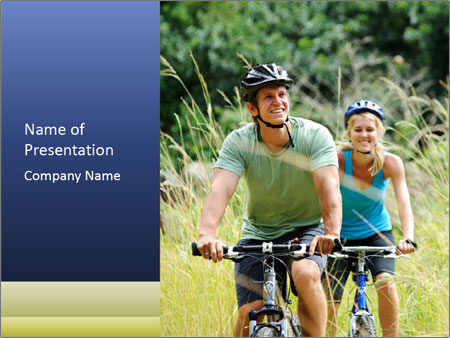 Happy couple PowerPoint Templates