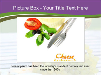 Various sorts of cheese PowerPoint Template - Slide 16