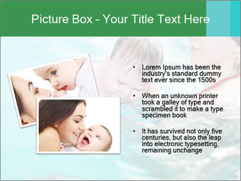 Teaching baby to swim PowerPoint Templates - Slide 20