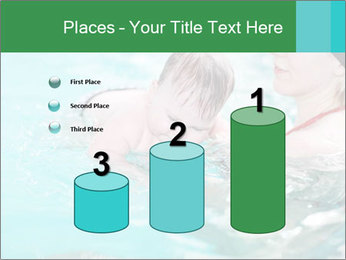 Teaching baby to swim PowerPoint Templates - Slide 65
