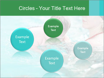 Teaching baby to swim PowerPoint Templates - Slide 77