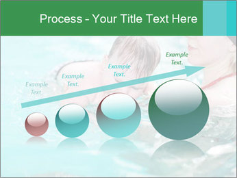 Teaching baby to swim PowerPoint Templates - Slide 87