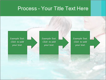 Teaching baby to swim PowerPoint Templates - Slide 88