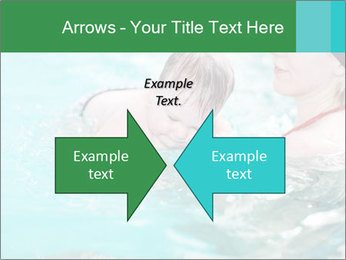 Teaching baby to swim PowerPoint Templates - Slide 90
