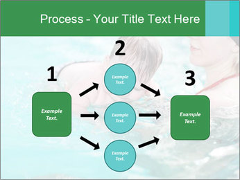 Teaching baby to swim PowerPoint Templates - Slide 92