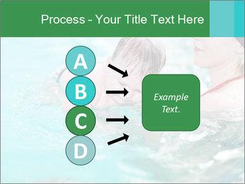 Teaching baby to swim PowerPoint Templates - Slide 94