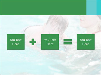 Teaching baby to swim PowerPoint Templates - Slide 95