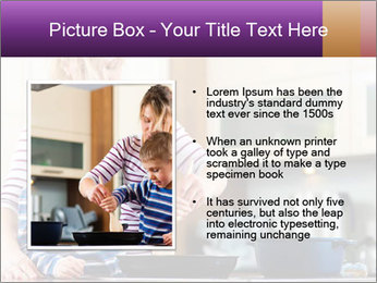 Mam Cooking With Son PowerPoint Template - Slide 13