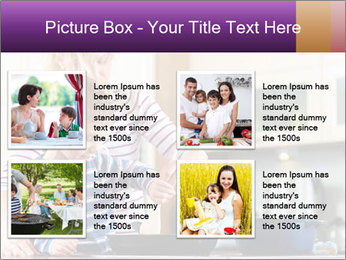 Mam Cooking With Son PowerPoint Template - Slide 14