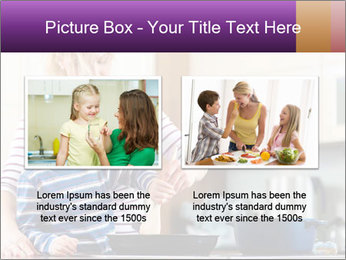 Mam Cooking With Son PowerPoint Templates - Slide 18