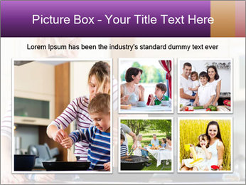 Mam Cooking With Son PowerPoint Templates - Slide 19