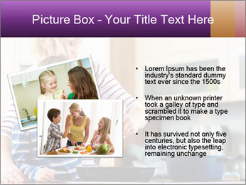 Mam Cooking With Son PowerPoint Template - Slide 20