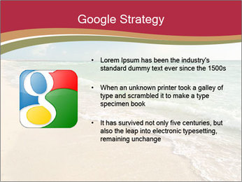 Golden Beach PowerPoint Template - Slide 10