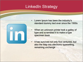 Golden Beach PowerPoint Template - Slide 12