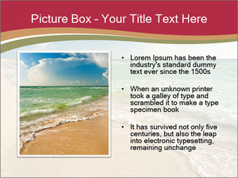Golden Beach PowerPoint Template - Slide 13