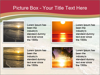 Golden Beach PowerPoint Template - Slide 14