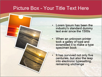 Golden Beach PowerPoint Template - Slide 17