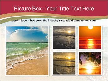 Golden Beach PowerPoint Templates - Slide 19