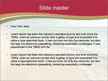 Golden Beach PowerPoint Templates - Slide 2