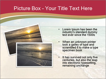 Golden Beach PowerPoint Template - Slide 20