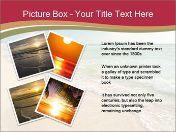 Golden Beach PowerPoint Template - Slide 23