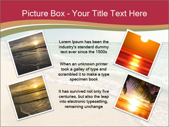 Golden Beach PowerPoint Template - Slide 24