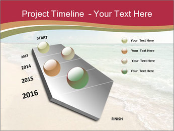 Golden Beach PowerPoint Template - Slide 26