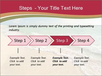 Golden Beach PowerPoint Templates - Slide 4