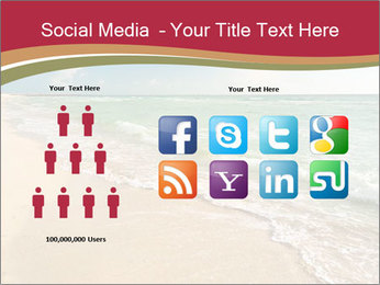 Golden Beach PowerPoint Template - Slide 5