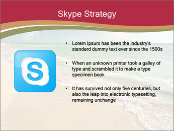 Golden Beach PowerPoint Template - Slide 8