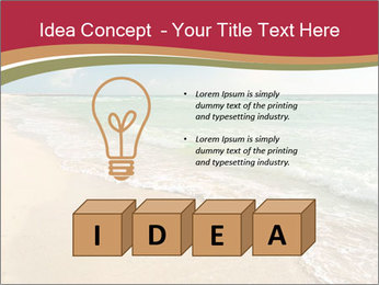 Golden Beach PowerPoint Template - Slide 80