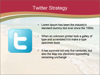 Golden Beach PowerPoint Template - Slide 9