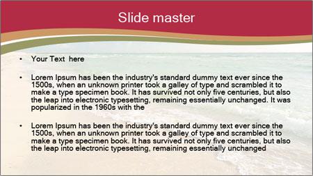 Golden Beach PowerPoint Template - Slide 2