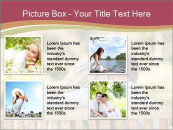 Retired Couple Sitting On Bench PowerPoint Template - Slide 14