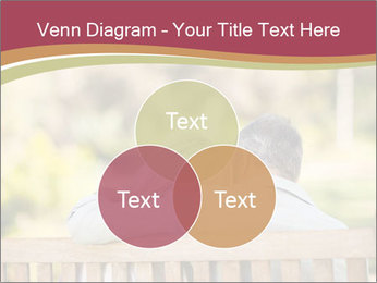 Retired Couple Sitting On Bench PowerPoint Template - Slide 33