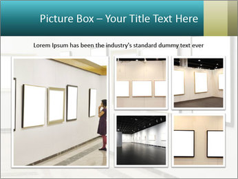 Woman at Art PowerPoint Template - Slide 19