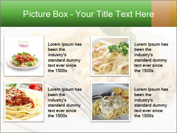 Pasta With Cheese PowerPoint Template - Slide 14