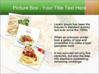 Pasta With Cheese PowerPoint Template - Slide 17