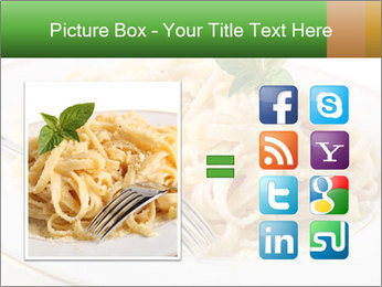 Pasta With Cheese PowerPoint Templates - Slide 21
