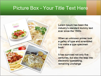 Pasta With Cheese PowerPoint Template - Slide 23