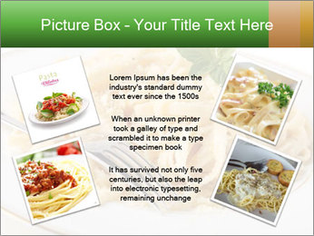 Pasta With Cheese PowerPoint Template - Slide 24