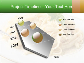Pasta With Cheese PowerPoint Template - Slide 26