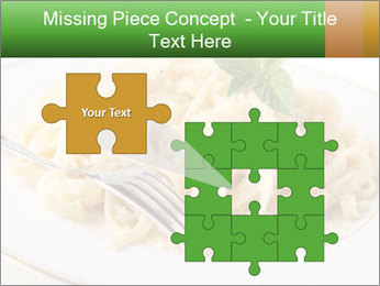 Pasta With Cheese PowerPoint Templates - Slide 45