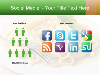 Pasta With Cheese PowerPoint Template - Slide 5