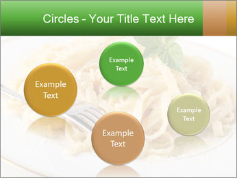 Pasta With Cheese PowerPoint Templates - Slide 77