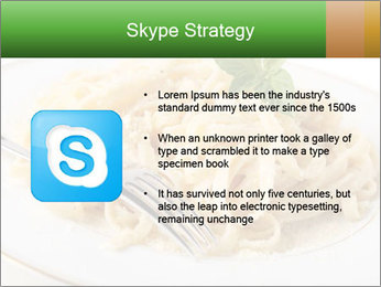 Pasta With Cheese PowerPoint Template - Slide 8