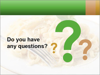Pasta With Cheese PowerPoint Template - Slide 96