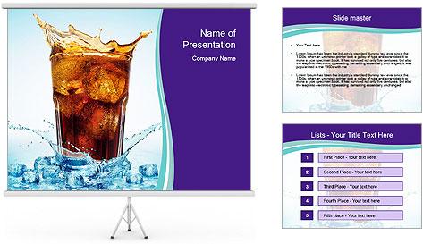Coke Drink PowerPoint Template