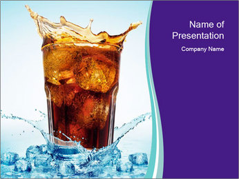 Coke Drink PowerPoint Templates - Slide 1